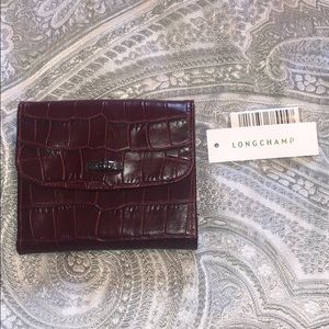 NWT Longchamp Wallet